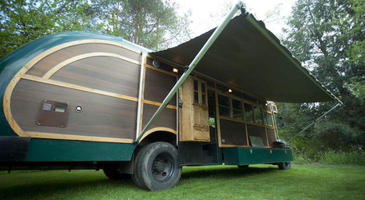 Master Craftsman Builds His Own Custom Truck Camper on a Vintage Chassis.