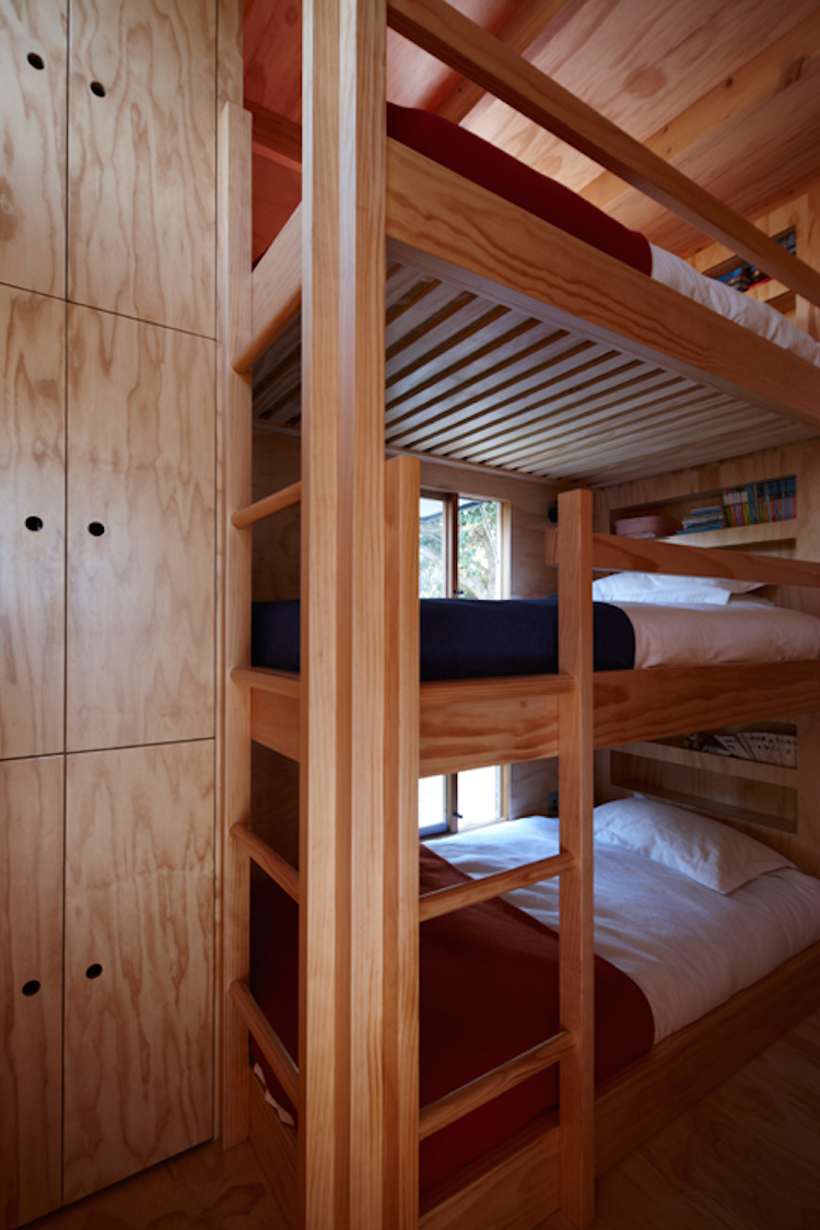 Bunks in the kids loft