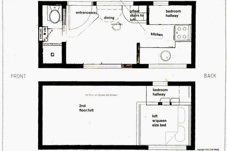 Corinne chemical free house floor plan