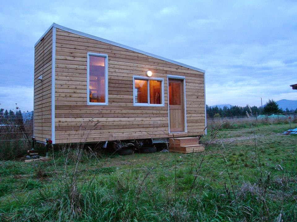 Exterior of chemical free tiny house