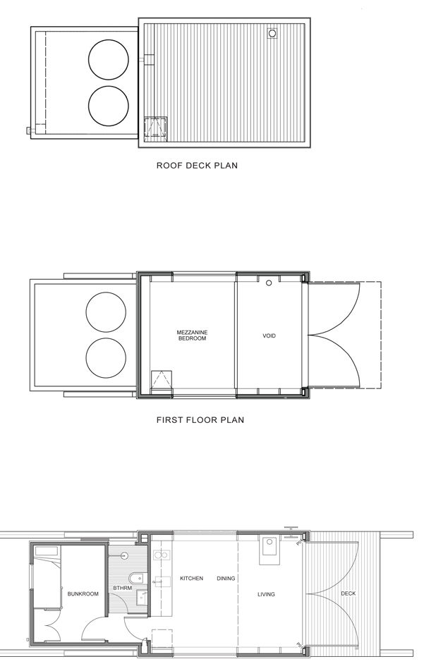 Floor plan of beach house