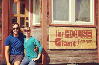 One Small Step for a Man, One Giant Leap for a Tiny House Couple