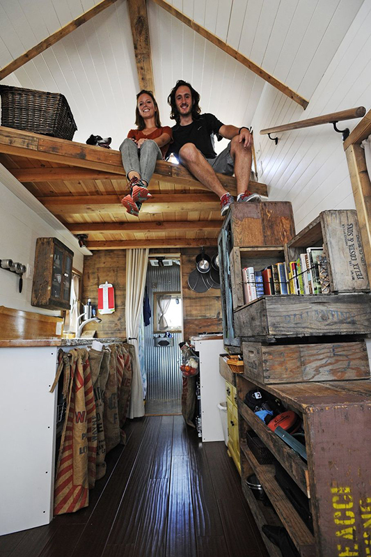 Hanging out in the loft, doesn't it look like fun?