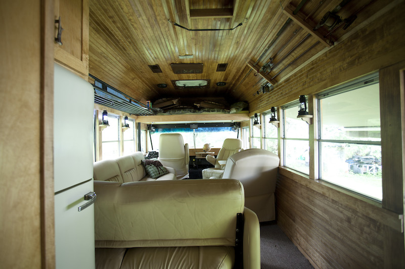 Master Craftsmen Builds His Own Custom Truck Camper