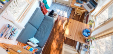 Modern Tiny House Made by a Web Designer. This Interior Blows My Mind.