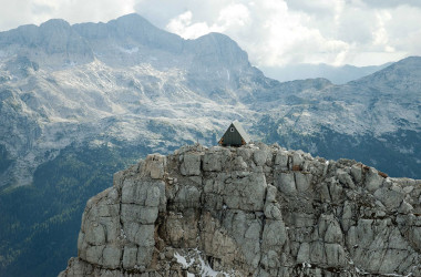 If You Can Climb a Mountain, You Can Sleep in This Tiny House for Free. PS: The Mountain is Over 8,000 Feet High.