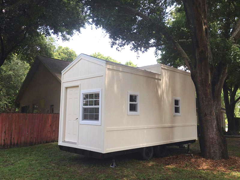 The Hudson's first tiny house