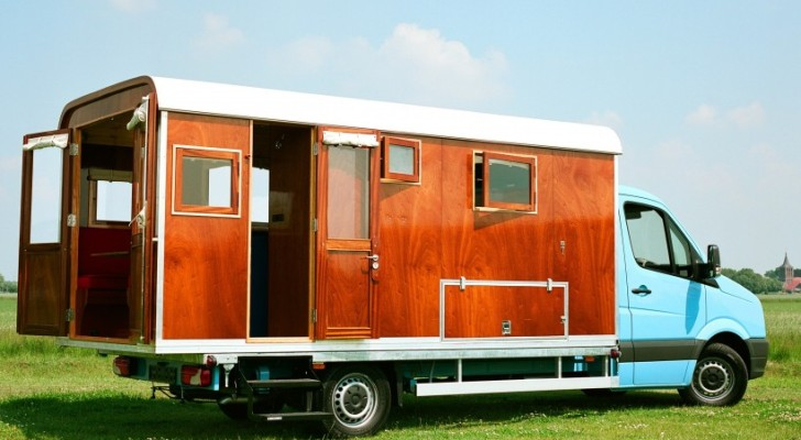 Tonke Fieldsleeper: Part Truck Camper, Part Motorhome. 100% Dutch Awesomeness.