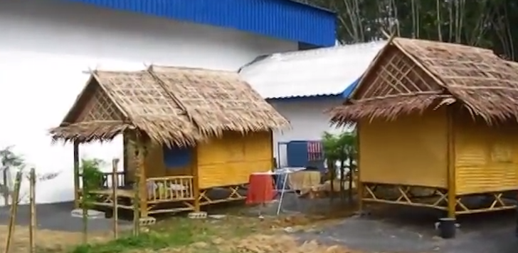These Thai Workers Built a Home Out of Bamboo in 6 Hours. People Are Incredible.