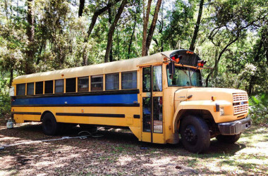 From School Bus to Fabulous. Don't Miss This Must-See Mobile Tiny Home.