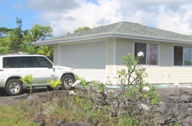 Housekeeper Builds His Own Tiny Home on the Big Island of Hawaii. Spoiler Alert: It's a Two-Car Garage.