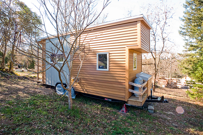 Tiny house made by a web designer