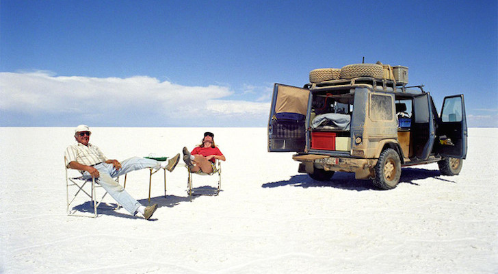 A Heartwarming Tale of a Couple's 20+ Year Road Trip. And One Amazing Mercedes G Wagon.