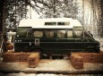 See This Man's 1977 Dodge Tradesman Campervan Made To Survive A Yukon Winter.