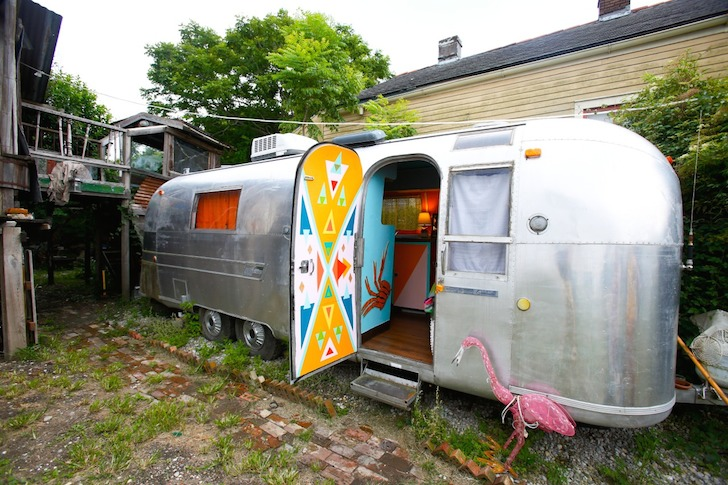 Outside-of-Rusty-Lazers-renovated-1976-Airstream-trailer
