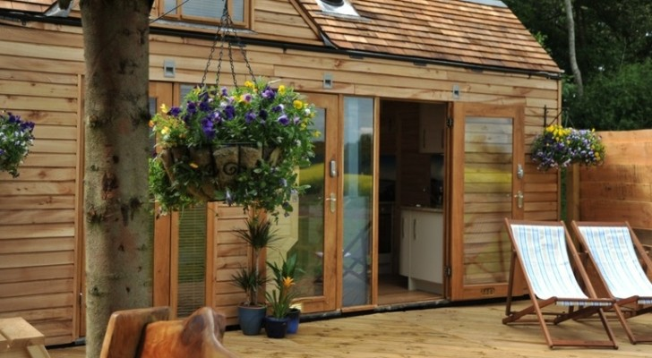 Luxurious Tiny House With A Wood-Fired Hot Tub. Yes, You Can Have Both.