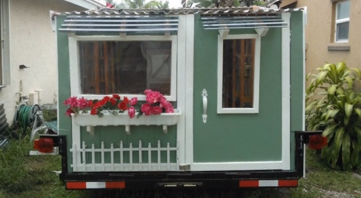 See This Self-Proclaimed 'Cutest Cargo Trailer Ever'