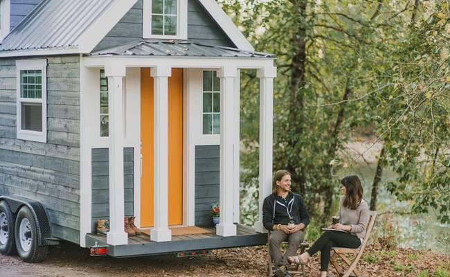 This Heirloom Tiny Home Has Unique Features and Striking Style