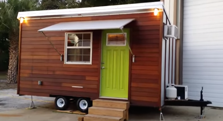 Trekker Trailers Made This Trailer Based Tiny House With A Bathtub Inside