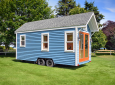This 160 Square Foot Poco Edition Tiny Home Is Built On A 8′ By 20′ Utility Trailer