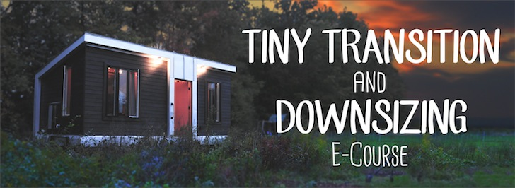 Tiny Transition E-Course Banner CometCamperDotCom