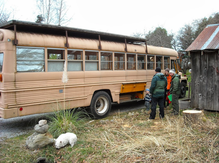 1978 International bus conversion