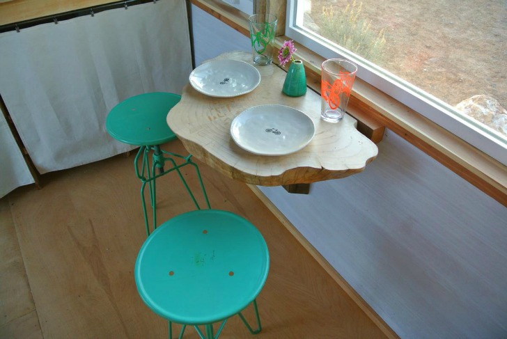 Tiny House Built in Table