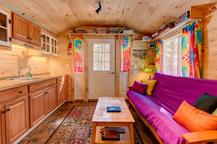 Tiny House Living Area