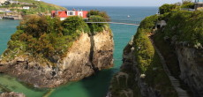 This House On A Rock In The Sea Has Its Own (Private) Bridge