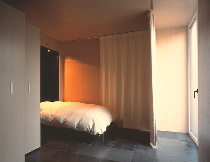 Curtain provides privacy