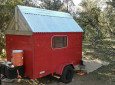 Run-Down Decades-Old Cargo Trailer, Now A Tiny Camper Fit For Living
