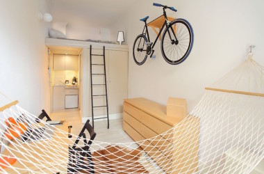 Tiny Poland Apartment Just 13 Square Meters But Big On Style