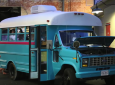 1988 Short School Bus Converted By Students Now 160 Square Feet Of Fun