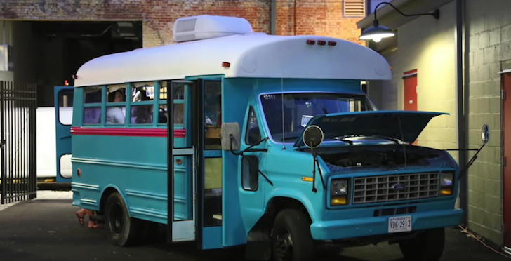 Thomas Built Buses >> 1988 Short School Bus Converted By Students