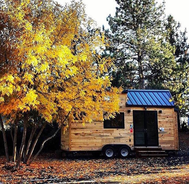 Hiatus tiny house