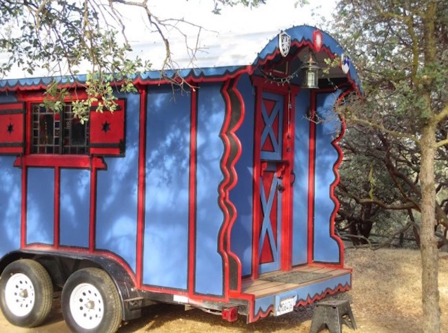 Trailer gypsy wagon