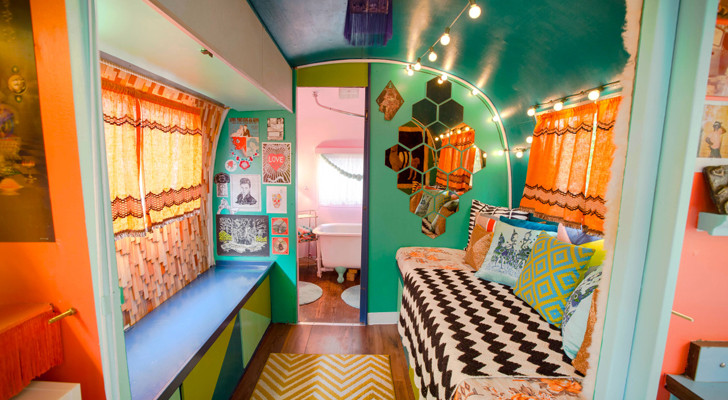 This Colorful 1976 Airstream Is Unlike Anything You've Ever Seen