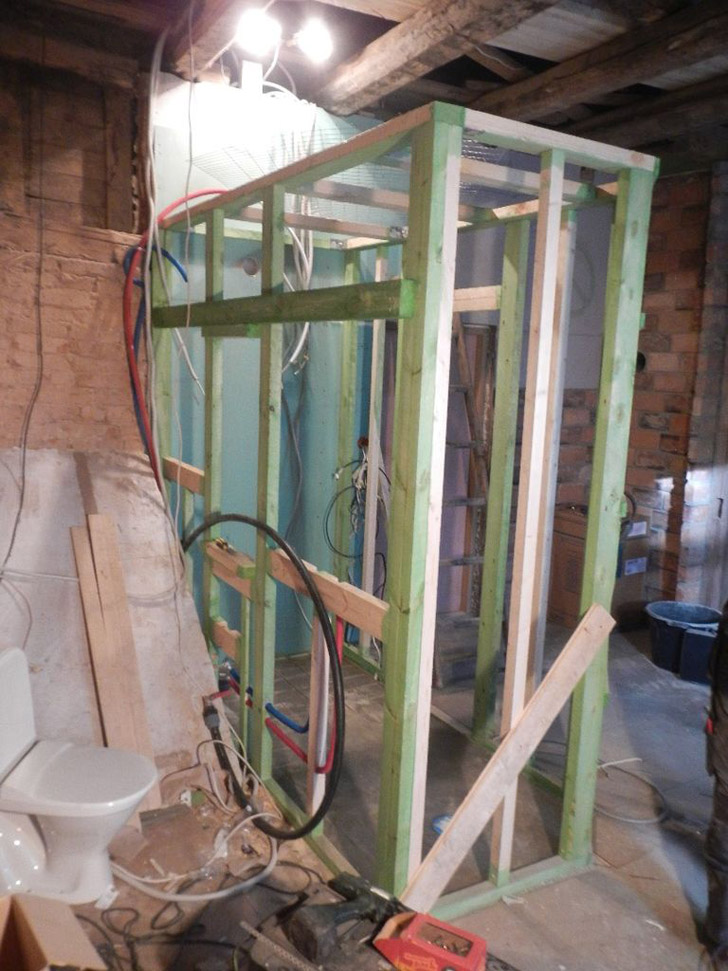 Shower frame